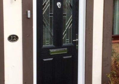 Black composite front door_Orchard Stamford