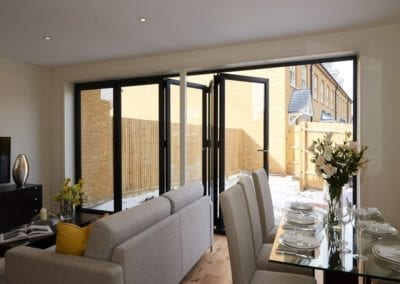 Stylish Bi-folding Doors - Orchard Stamford