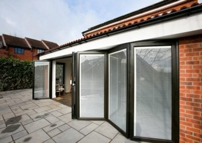 External bi-folding doors - Orchard Home Improvements Stamford