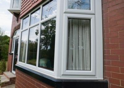 double glazed UPVC Bay window Orchard Stamford