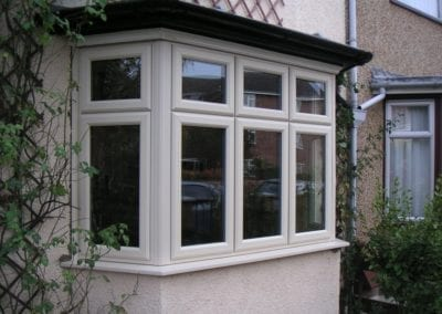 traditional UPVC Bay window Orchard Stamford