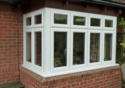 Modern UPVC Bay window Orchard Stamford