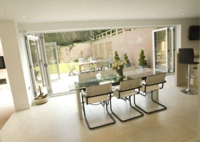 Bi-Folding Patio Doors - Orchard Home Improvements Stamford