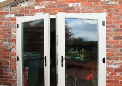 Double glazed French doors - Orchard Stamford
