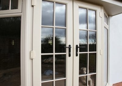 French doors with side windows - Orchard Stamford