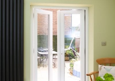 External double doors - Orchard Stamford