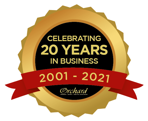 Celebrating 20 Years Badge