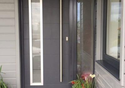 Grey Composite door_Orchard Stamford