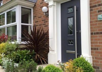 Modern front door_Orchard