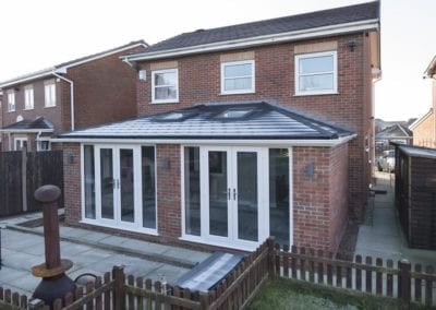 Tiled Conservatory roof - Orchard Stamford