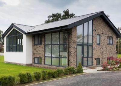 Origin Aluminium floor to ceiling windows - Orchard Home Improvements Stamford