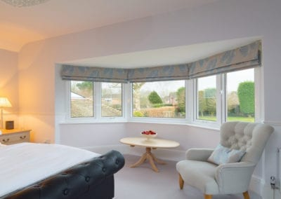 Internal view - Aluminium windows - Orchard Home Improvements Stamford